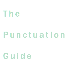list of all punctuation marks